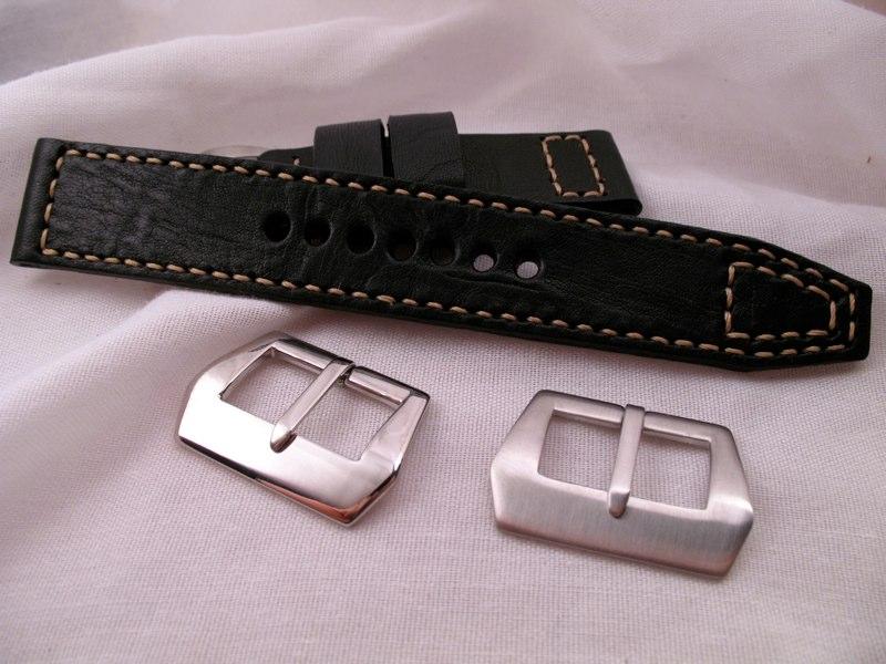 sewn polished or brushed